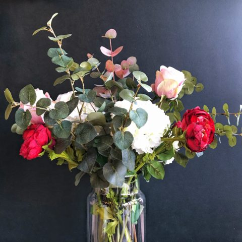 Rose-Faux-Flower-Bouquet-Grace-and-Grey