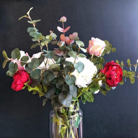 Rose-Faux-Flower-Bouquet-Grace-and-Grey