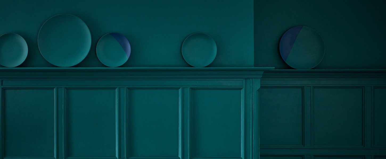 Mid Azure Green 96 - Detail