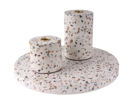 image-Terrazzo Candle Tray
